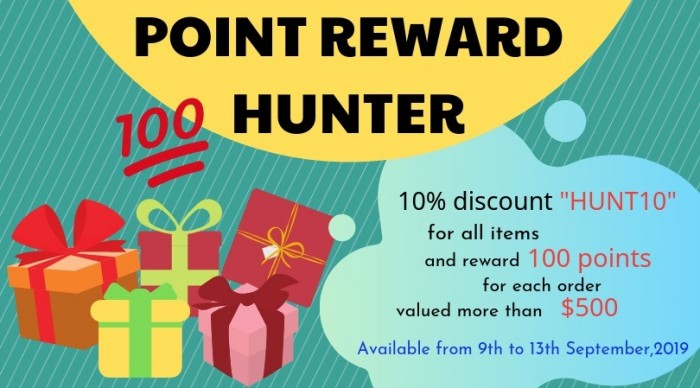 point reward hunter
