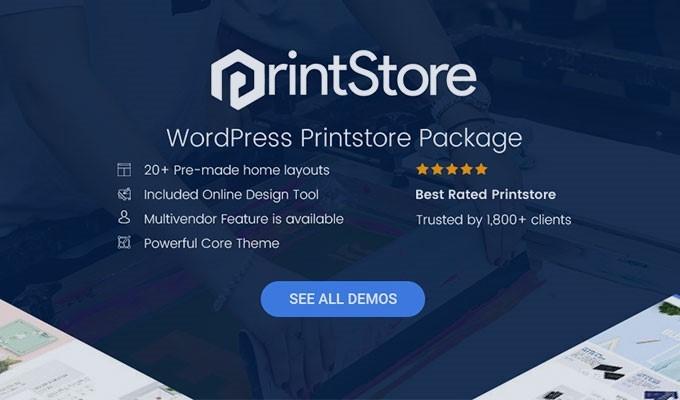 wordpress printstore