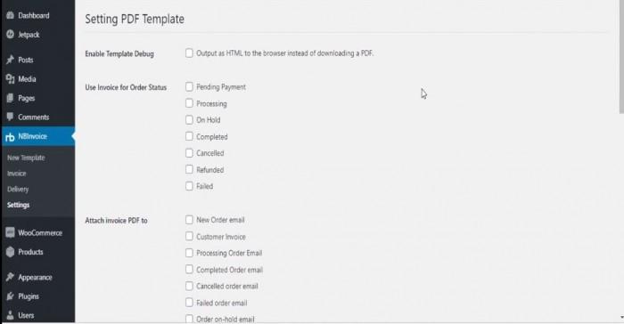 WooCommerce Print PDF Invoices
