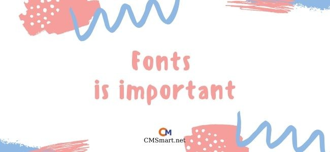 Why you need to care about fonts