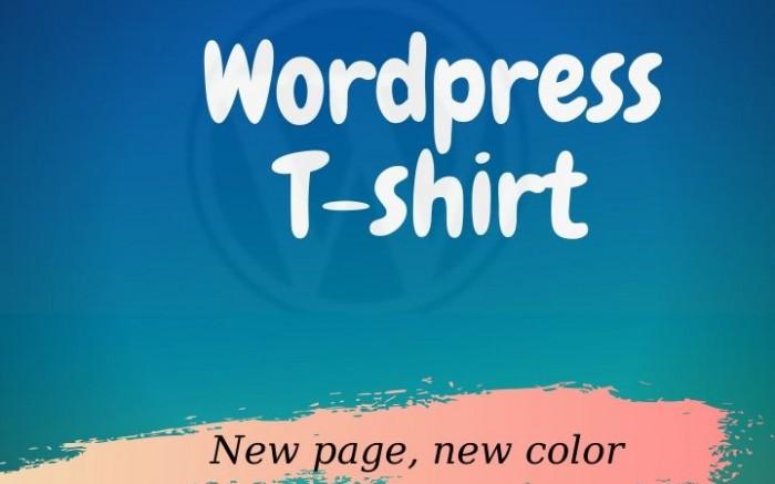 Wordpress Tshirt