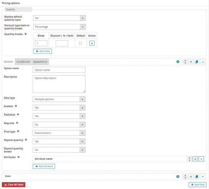 steps creat a pricing option for magento 2