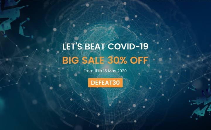 Let's beat COVID19 with CMSmart