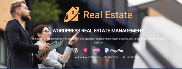 WordPress Real Estate Plugin