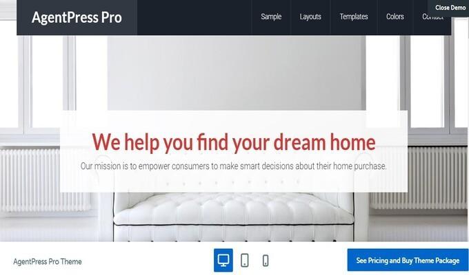 WordPress Real Estate Themes, AgentPress Pro - Best WordPress Real Estate Theme