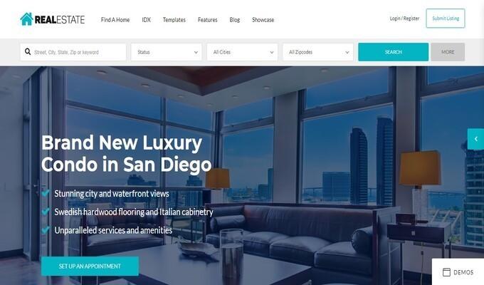 WordPress Real Estate Themes, Wp Pro Real ,Estate 7 - Best Real Estate WordPress Theme