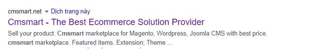 meta description wordpress
