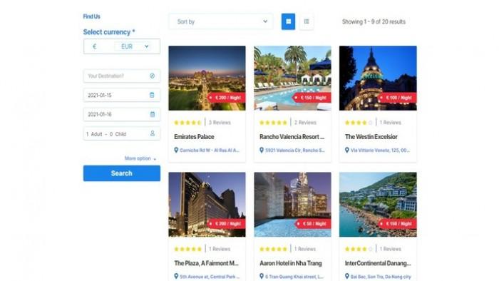 WordPress Hotel Booking