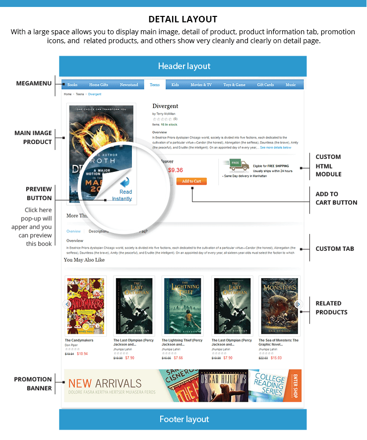 vm-bookstore-teplates-home-page