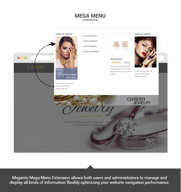 Elegance - Magento Responsive Jewelry Theme