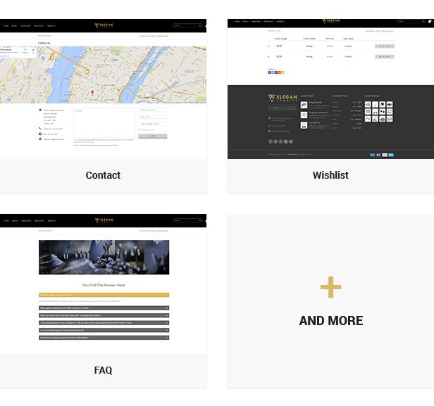 ELEGAN -  Responsive HTML5 Jewelry Template