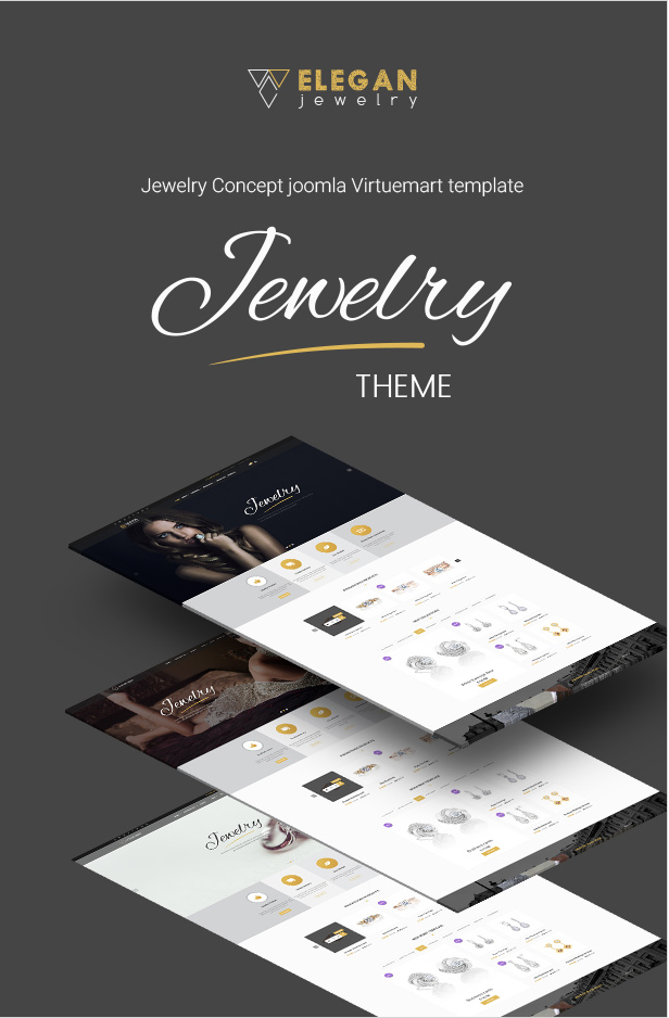 Elegan – Virtuemart Responsive Jewelry Template