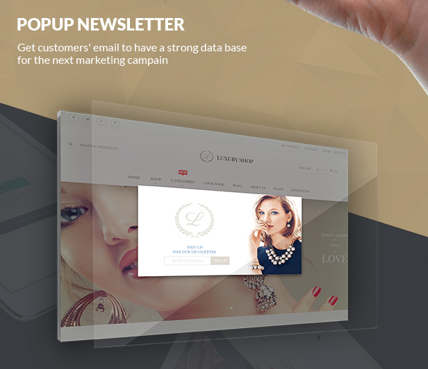 Magento Responsive Luxury Theme