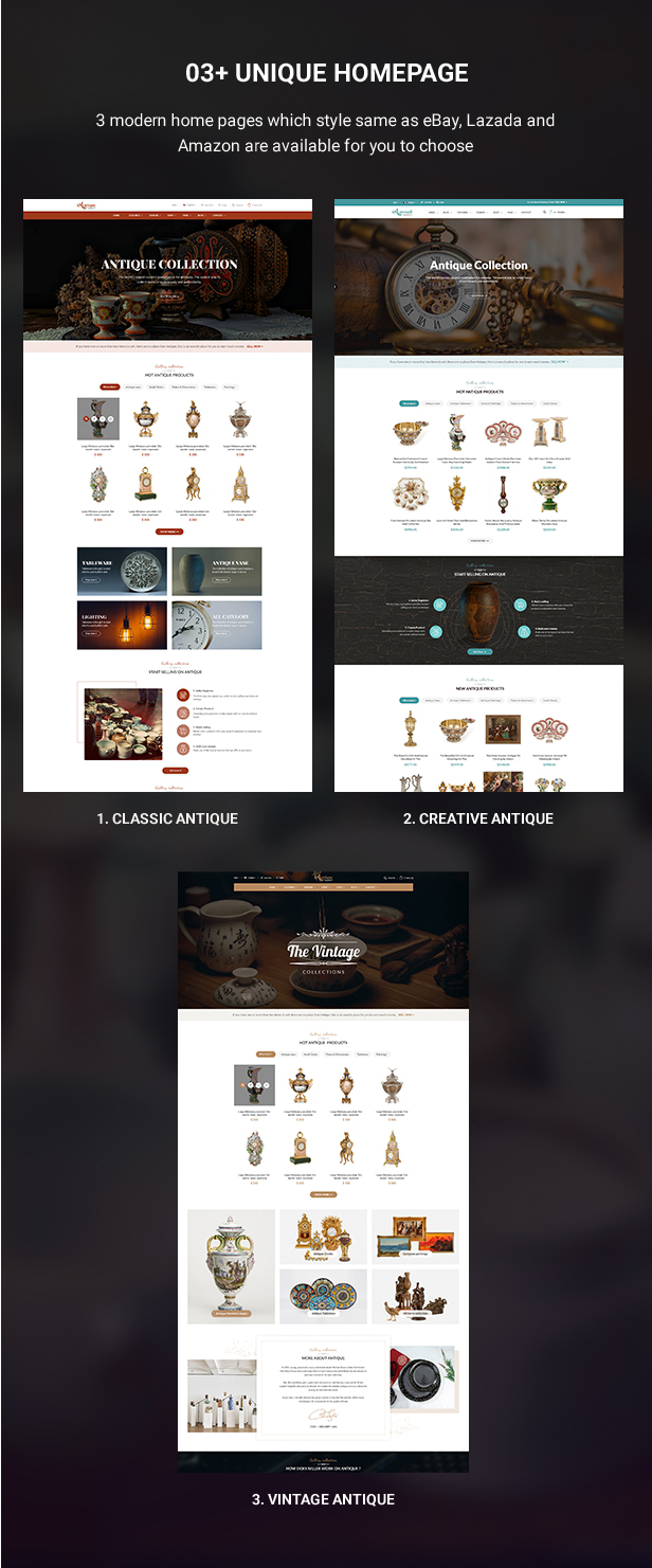 Mag2Antique - Magento 2 Theme for Antique Store Marketplace - 3