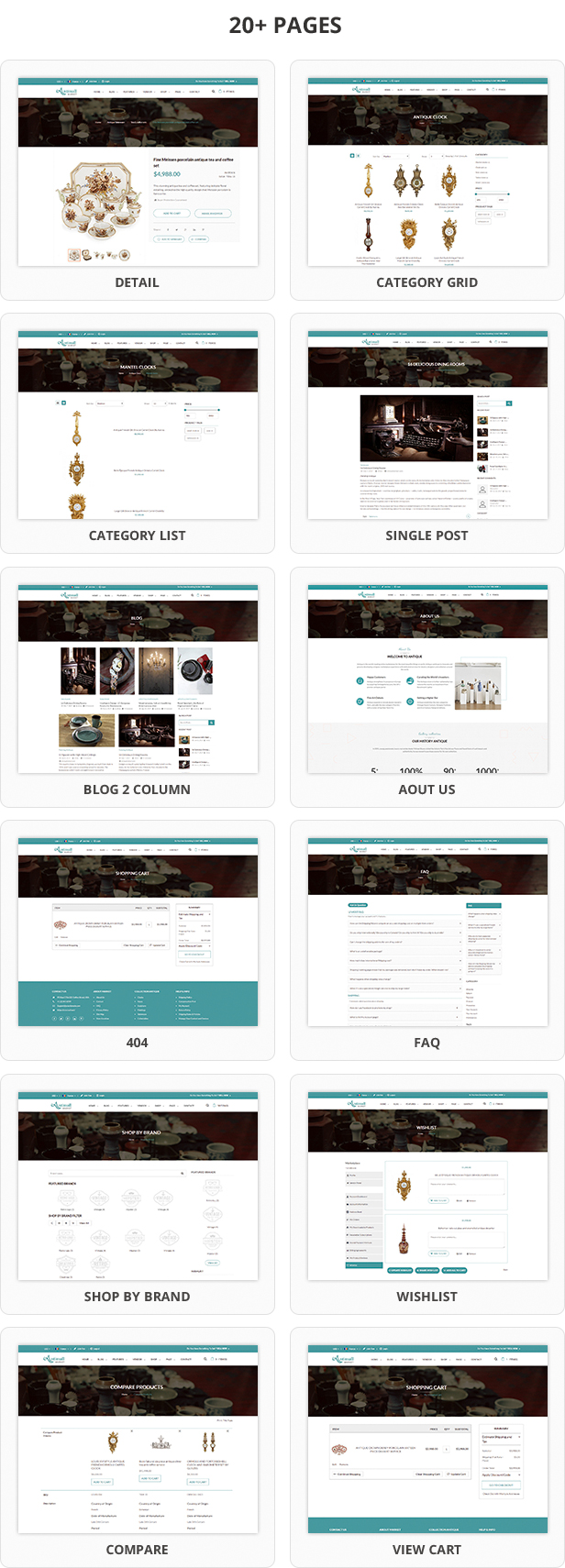 Mag2Antique - Magento 2 Theme for Antique Store Marketplace - 4