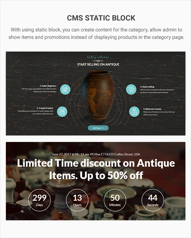 Mag2Antique - Magento 2 Theme for Antique Store Marketplace - 28