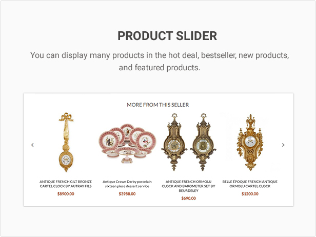 Mag2Antique - Magento 2 Theme for Antique Store Marketplace - 29