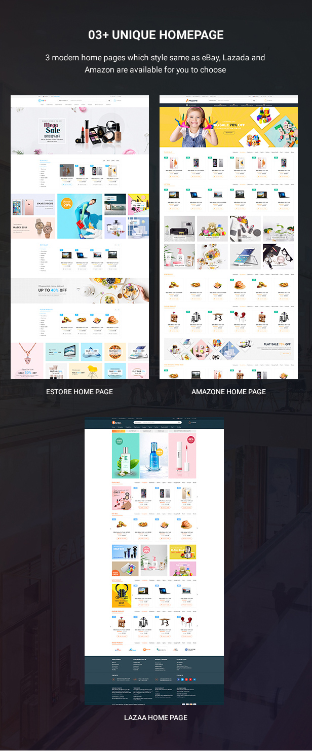 Mag2 Marketplace - Magento 2 Theme Support Multiple Stores - 3