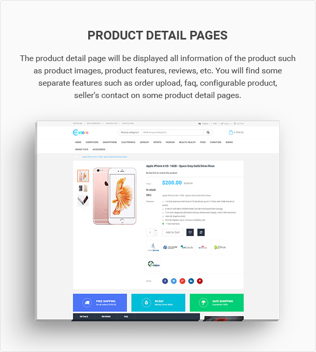 Mag2 Marketplace - Magento 2 Theme Support Multiple Stores - 9