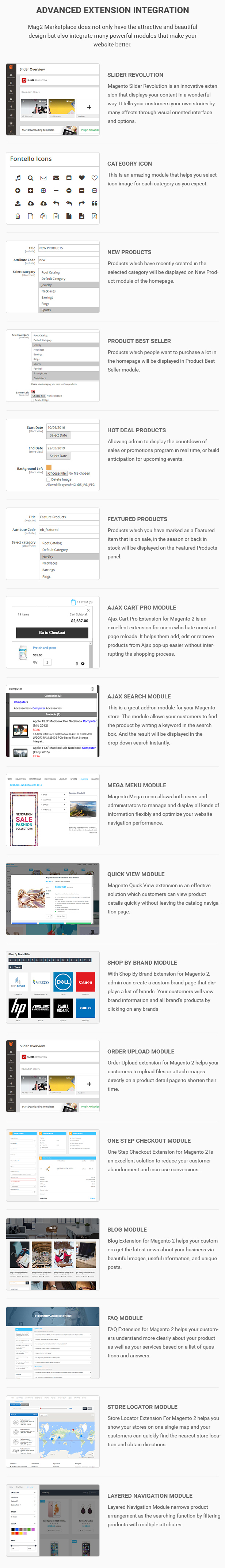Mag2 Marketplace - Magento 2 Theme Support Multiple Stores - 11