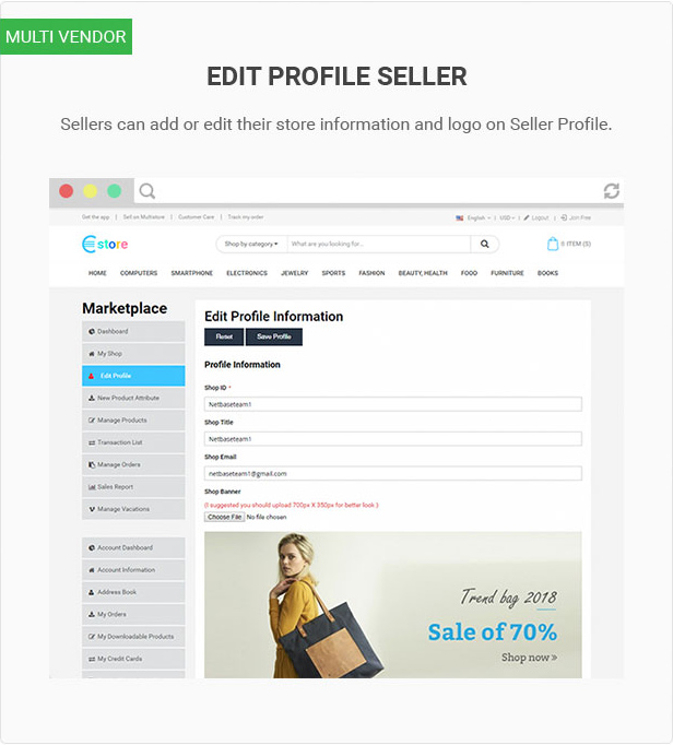 Mag2 Marketplace - Magento 2 Theme Support Multiple Stores - 19