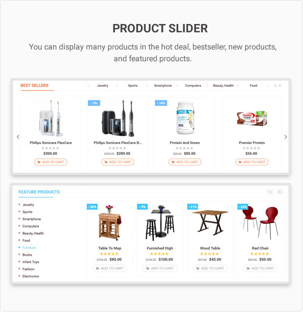Mag2 Marketplace - Magento 2 Theme Support Multiple Stores - 30