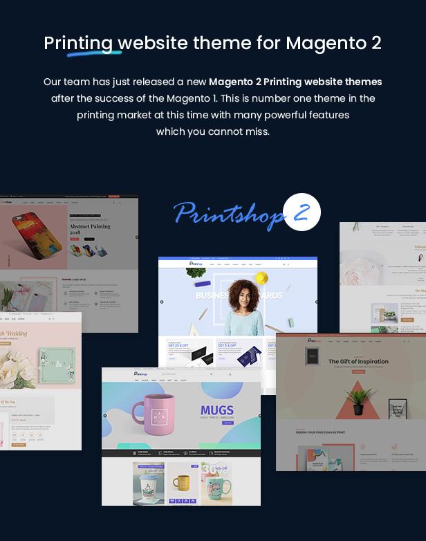 Printshop - Responsive Magento Printing Theme - 2