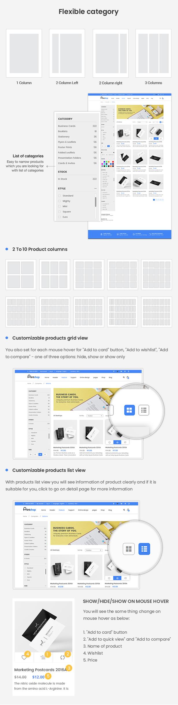 Printshop - Responsive Magento Printing Theme - 9
