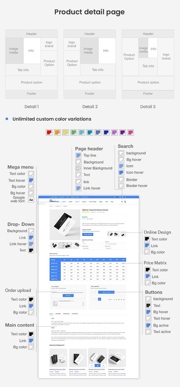 Printshop - Responsive Magento Printing Theme - 10
