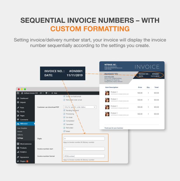 WooCommerce PDF Invoices Pro - 11
