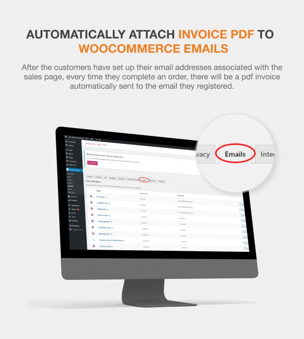 WooCommerce PDF Invoices Pro - 8
