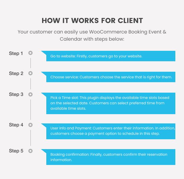 WooCommerce Booking Hours & Calendar - 5