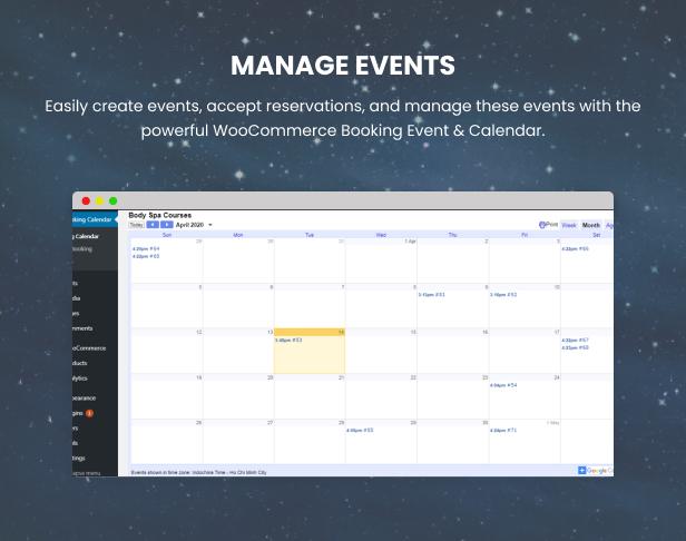 WooCommerce Booking Hours & Calendar - 8