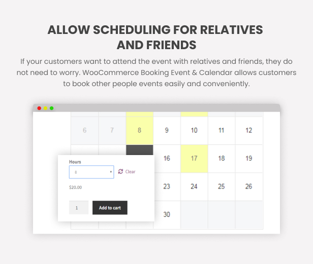 WooCommerce Booking Hours & Calendar - 14