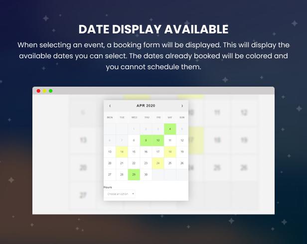 WooCommerce Booking Hours & Calendar - 15