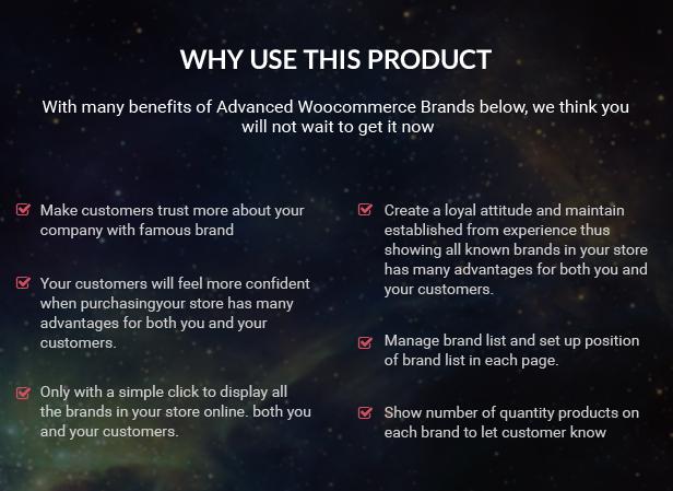 Advanced WooCommerce Brands Plugin 4