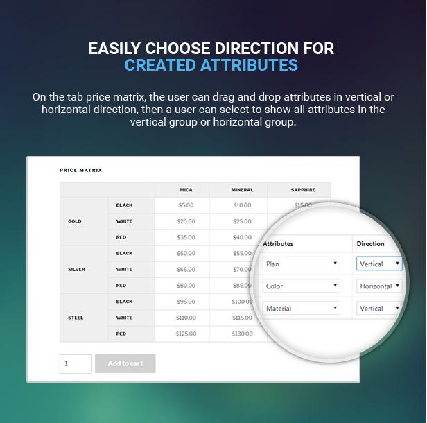 Matriz de preços de tabela flexível para WooCommerce - 16