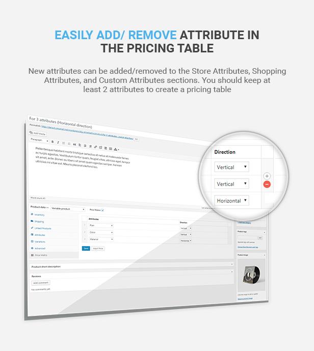 Matriz de preços de tabela flexível para WooCommerce - 18
