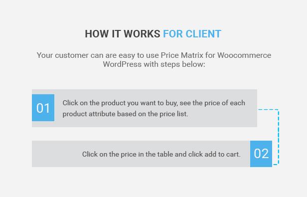 Matriz de preços de tabela flexível para WooCommerce - 7