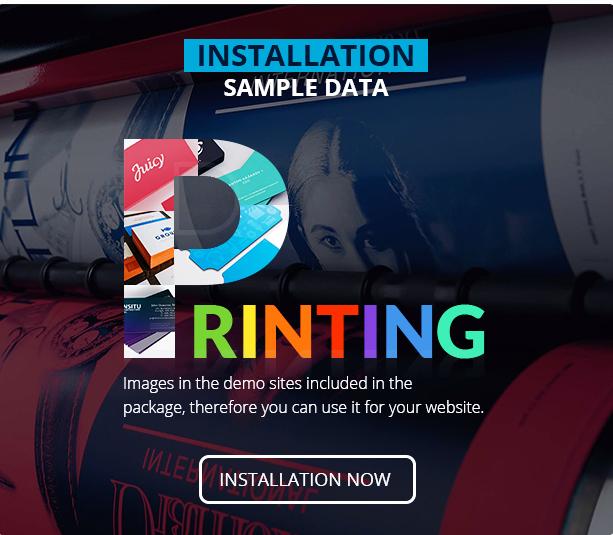 Printshop - Responsive Magento Printing Theme
