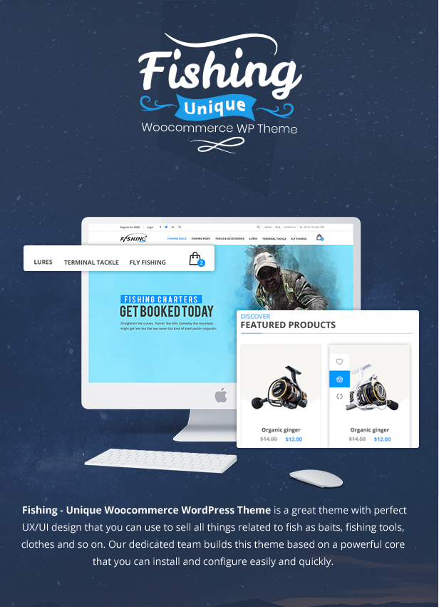Fishing Store For WordPress Theme - 7