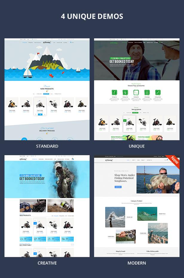 Fishing - WordPress Theme For Fishing Store - 8
