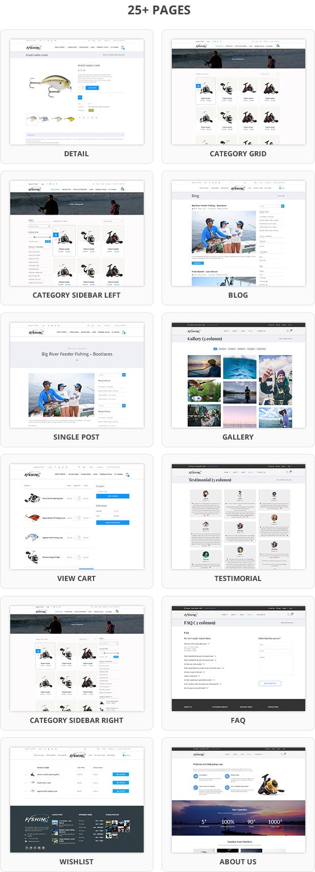 Fishing - WordPress Theme For Fishing Store - 9