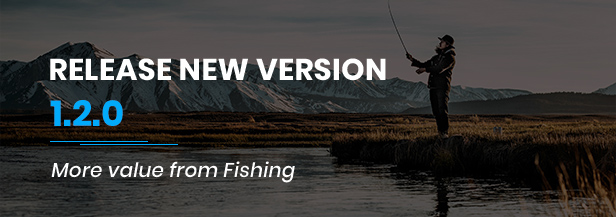 Fishing - WordPress Theme For Fishing Store - 1