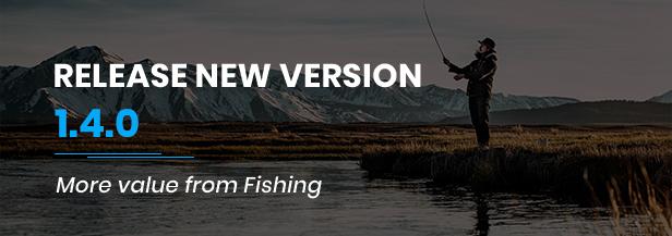 Fishing Store For WordPress Theme - 2