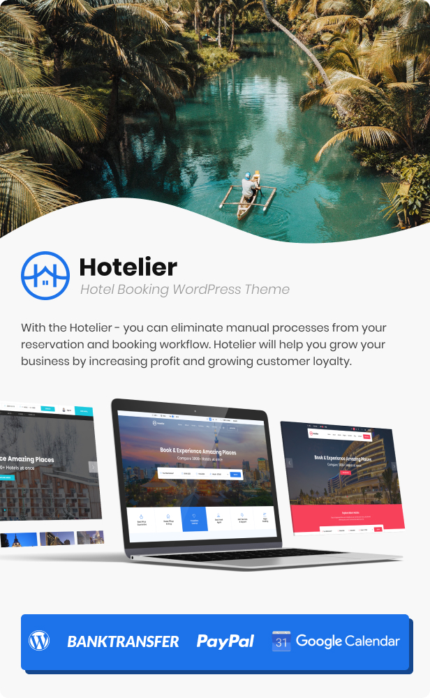 Hotelier - WordPress Hotel Booking Theme - 5