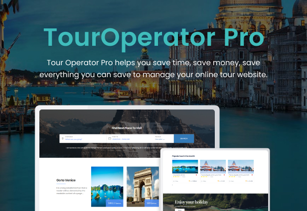 WordPress Tour Operator Pro - 2