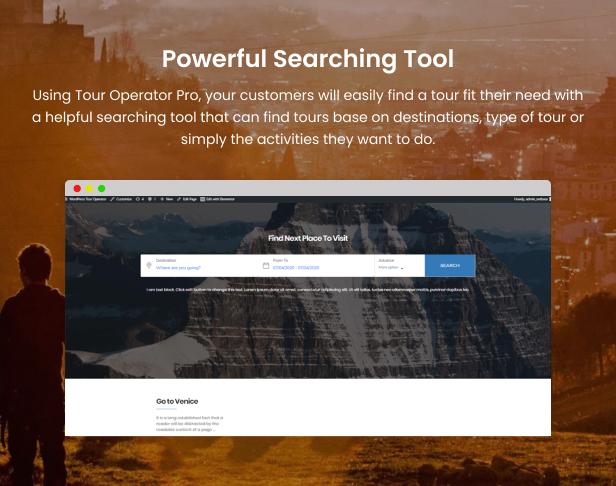 WordPress Tour Operator Pro - 9