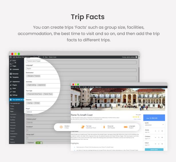 WordPress Tour Operator Pro - 16