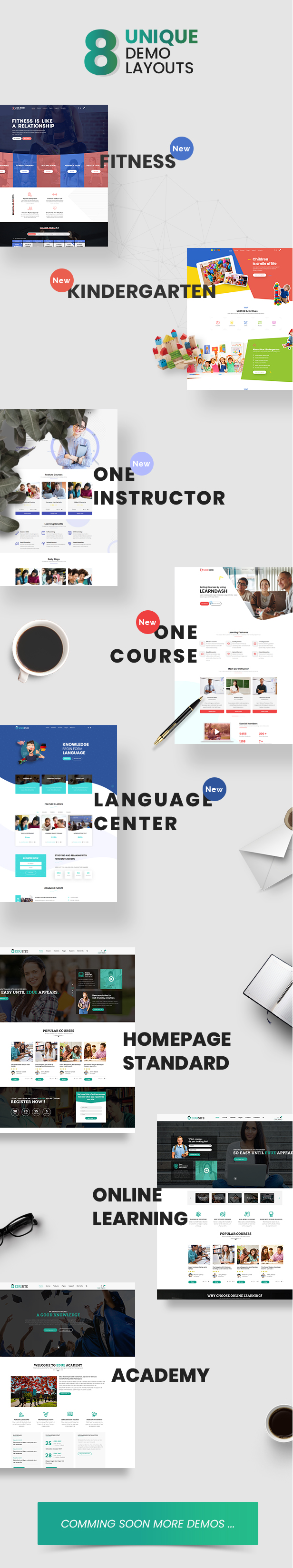 Udetor - LMS Education WordPress Theme - 8